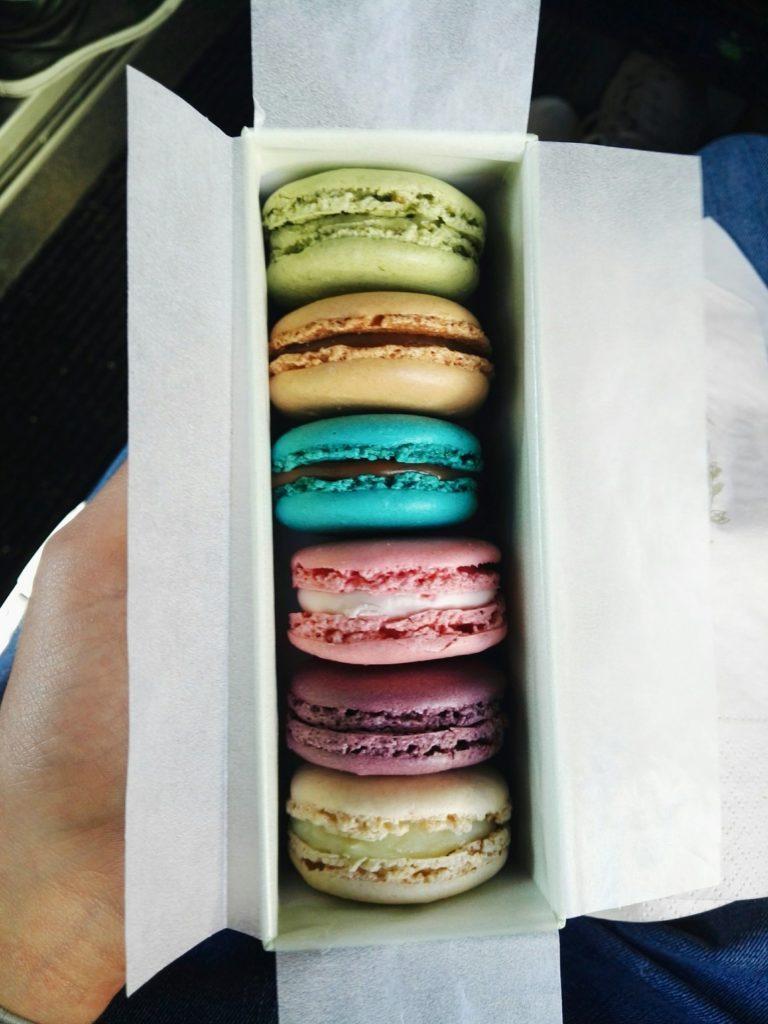 Paryż: słodkie Ladurée 9