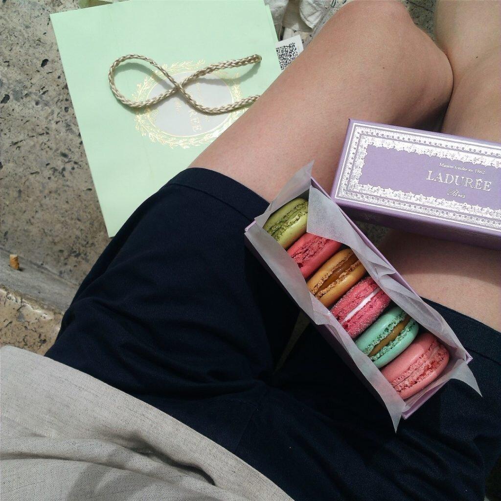 Paryż: słodkie Ladurée 12