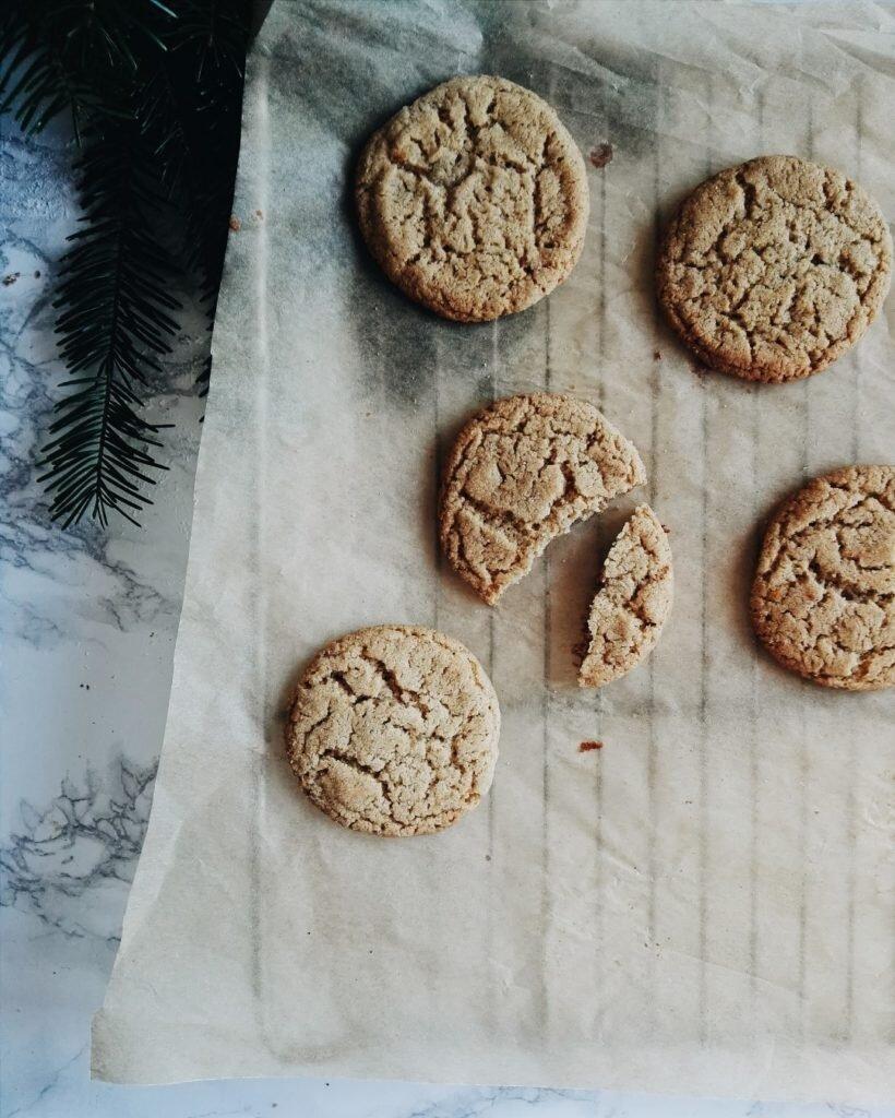 Szybkie szwedzkie ciasteczka imbirowe 2