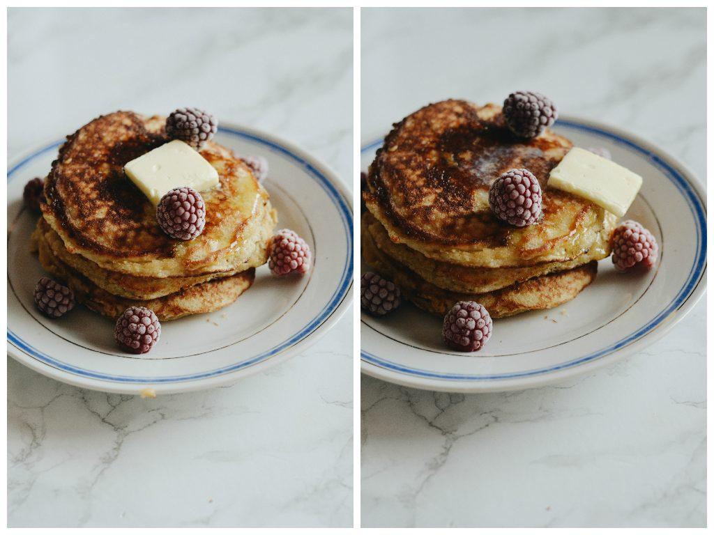 Pancakes z mąki kokosowej 1