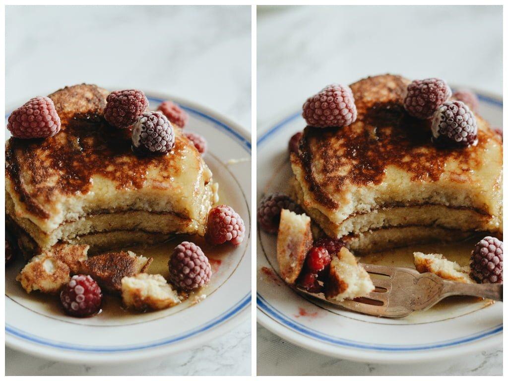 Pancakes z mąki kokosowej 3