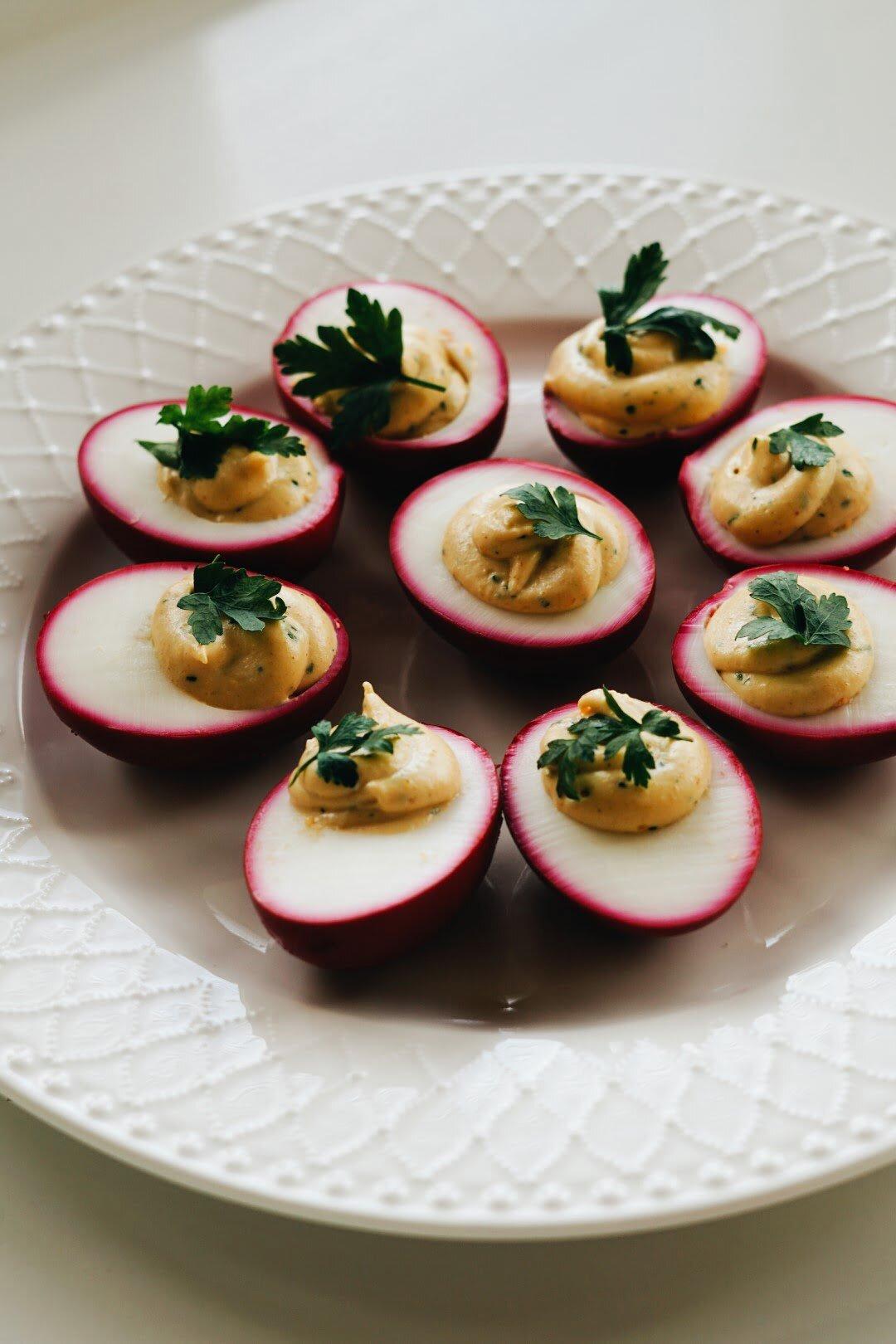 Diabelskie faszerowane jajka 6