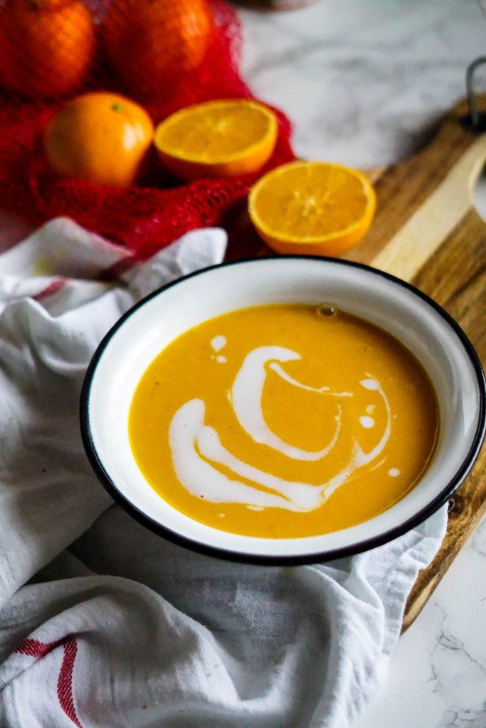 Krem marchewkowo - pomarańczowy 1