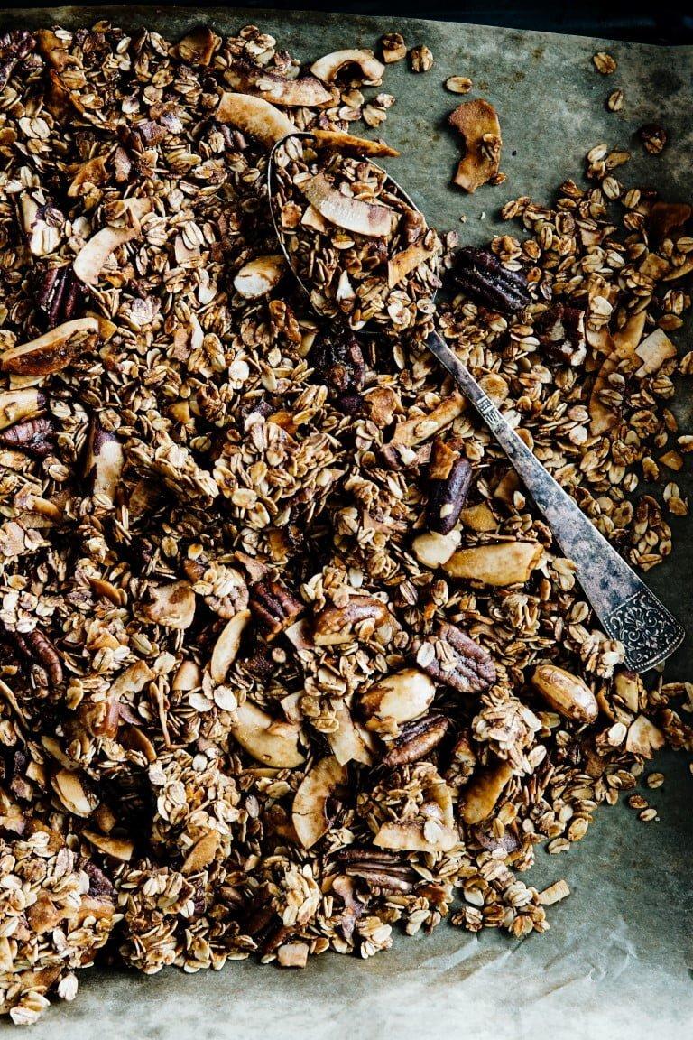 Niesamowicie chrupiąca granola kokosowa 76
