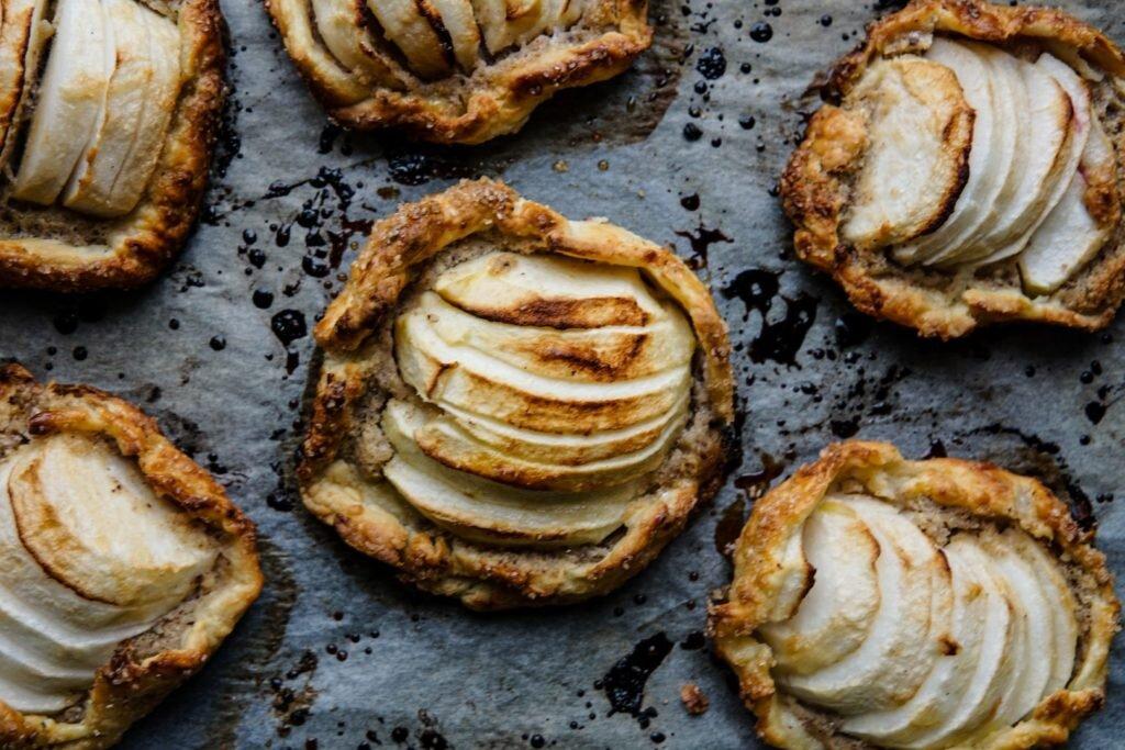 PnŚ: Galettes z jabłkami i kremem z orzechów laskowych 1