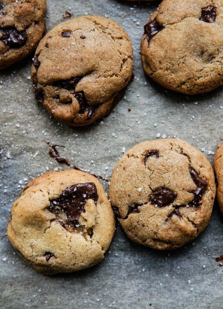 Amerykańskie chocolate chip cookies 1