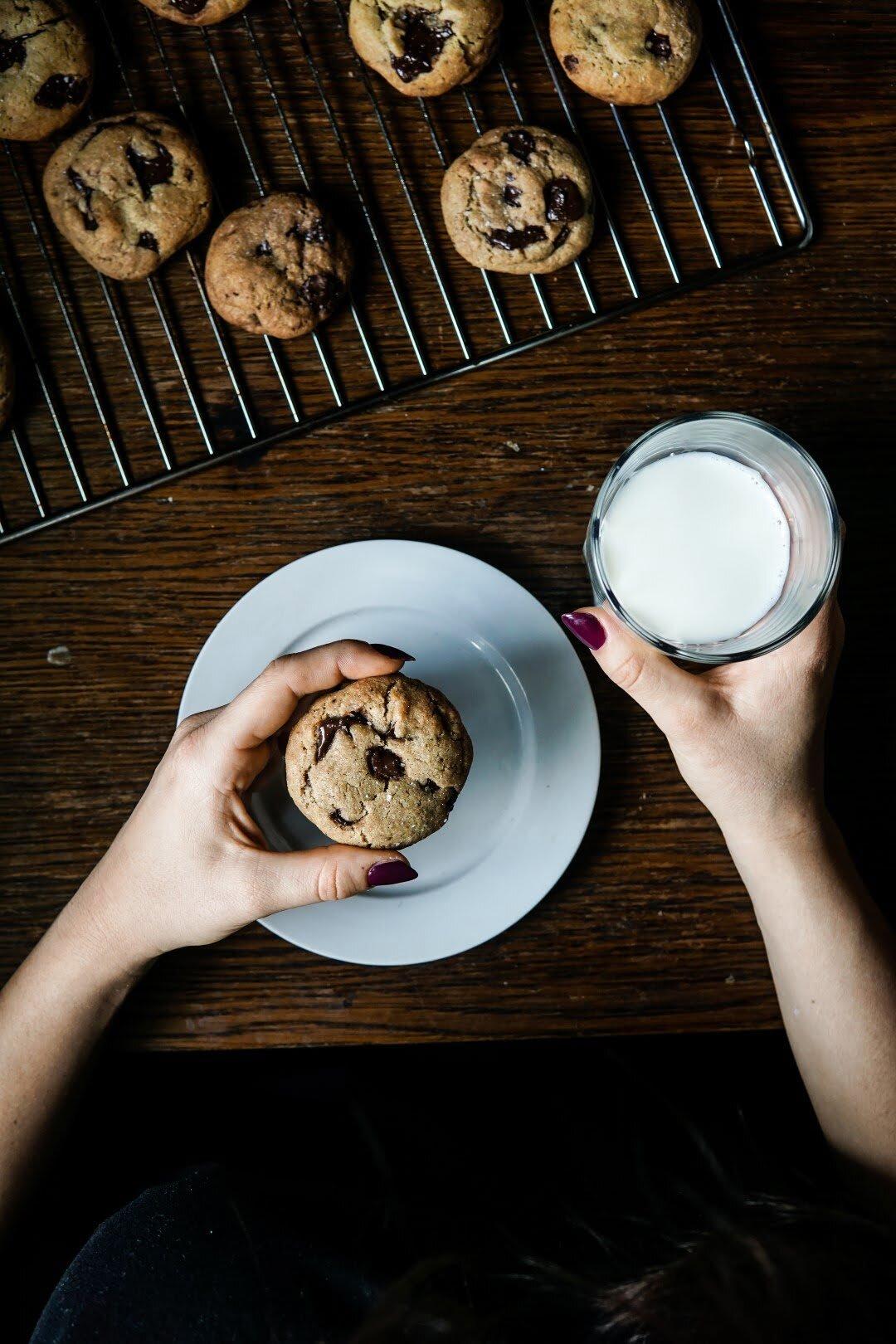 Amerykańskie chocolate chip cookies 50
