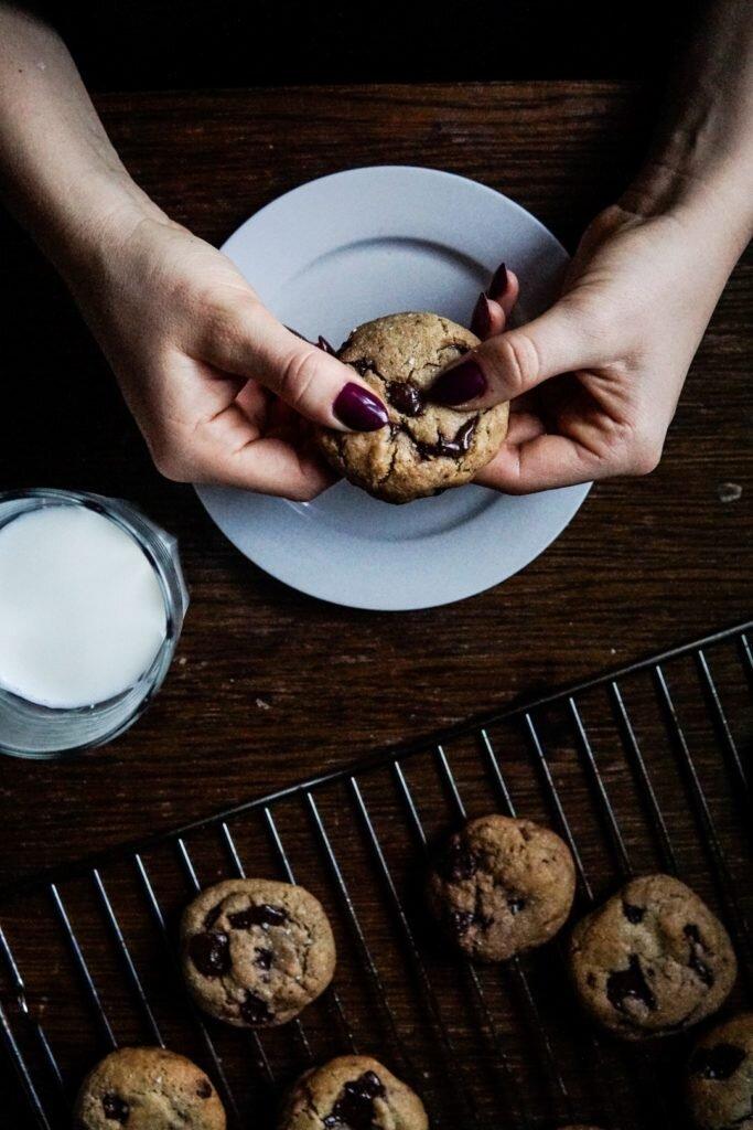 Amerykańskie chocolate chip cookies 3
