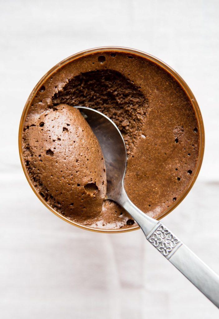 Mus czekoladowy z solonym karmelem 3
