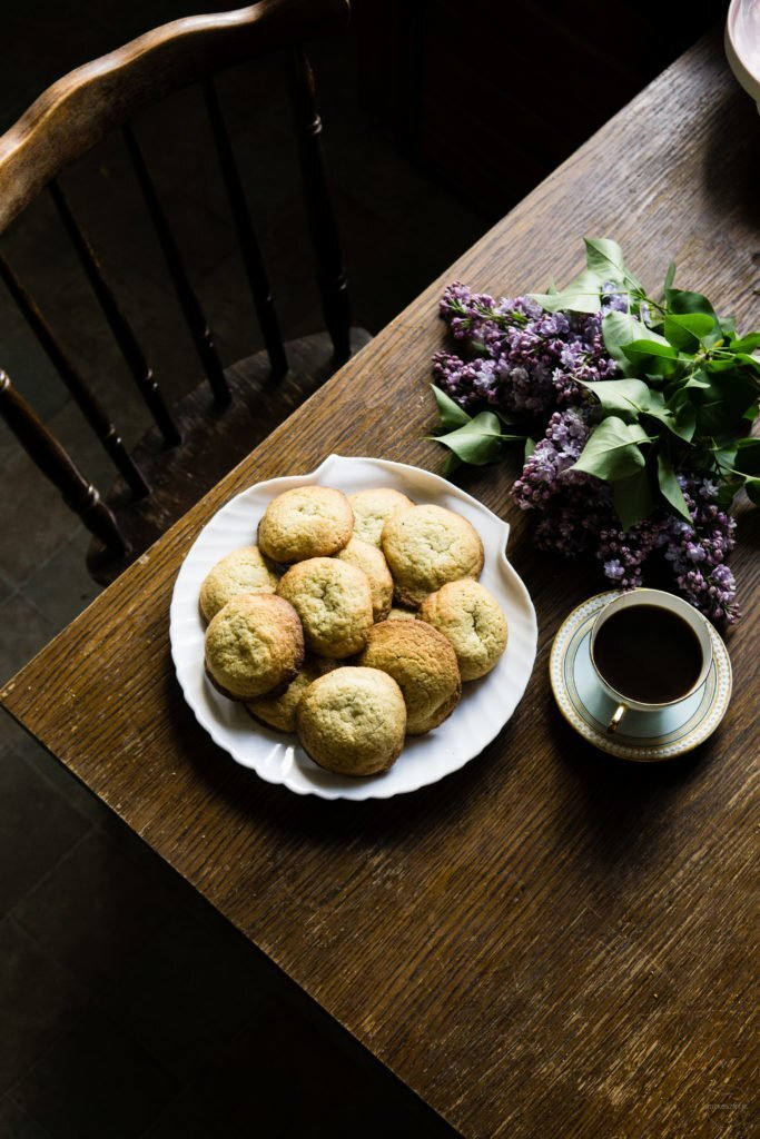 Rumiankowe ciasteczka maślane z cytryną 2