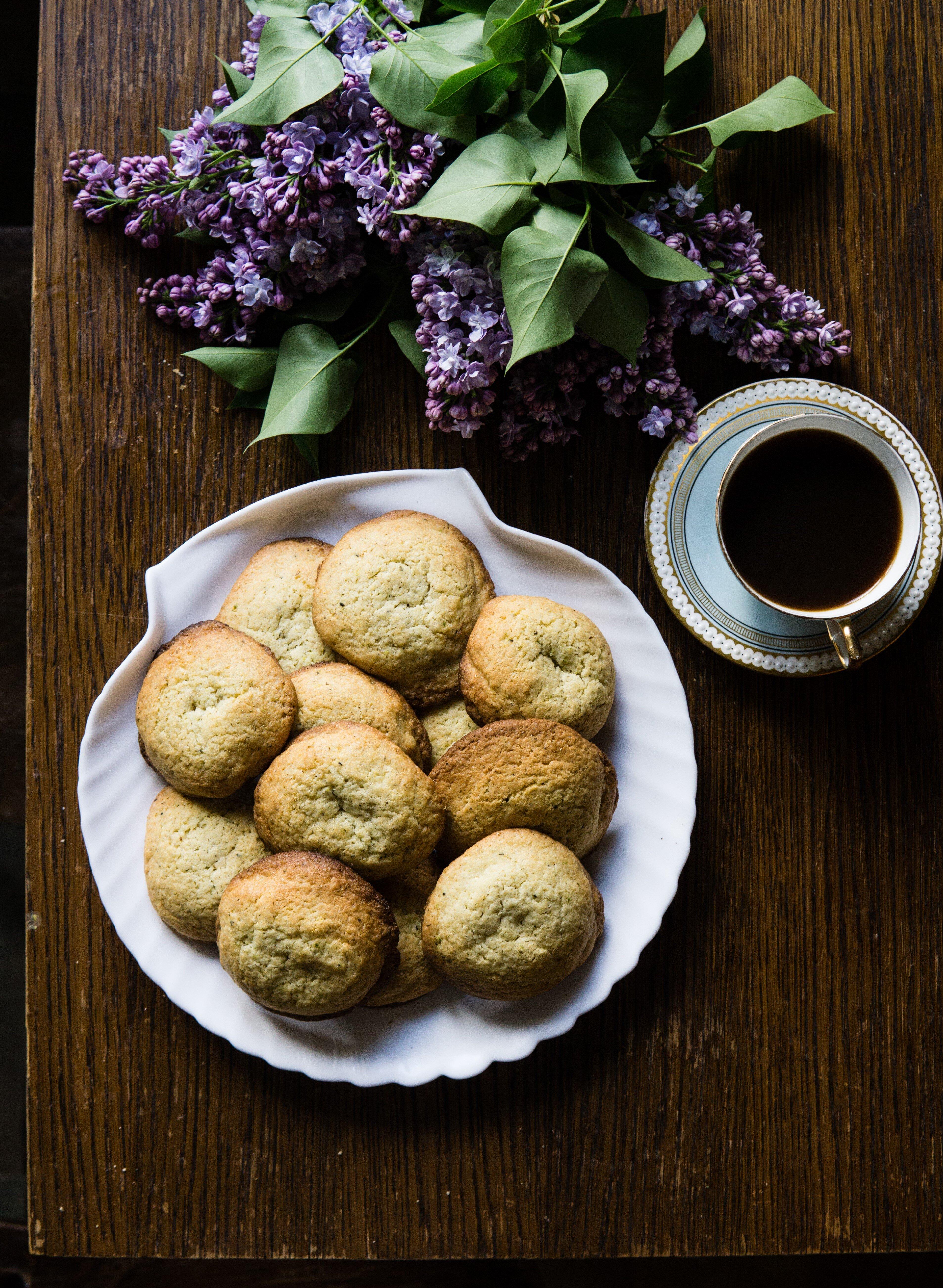 Rumiankowe ciasteczka maślane z cytryną 10