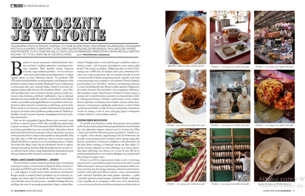 Kulinarny przewodnik po Lyonie 1