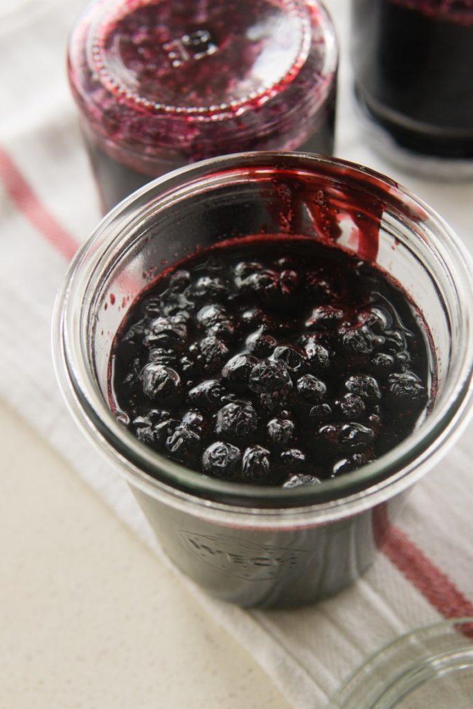 Konfitura jagodowa z wanilią 3