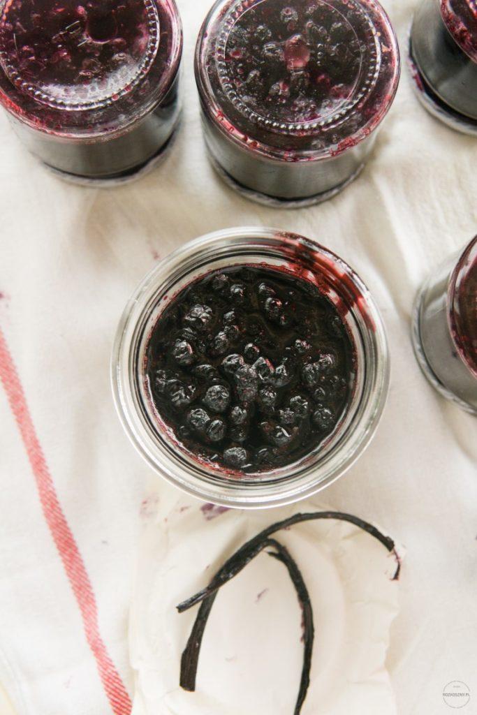 Konfitura jagodowa z wanilią 2