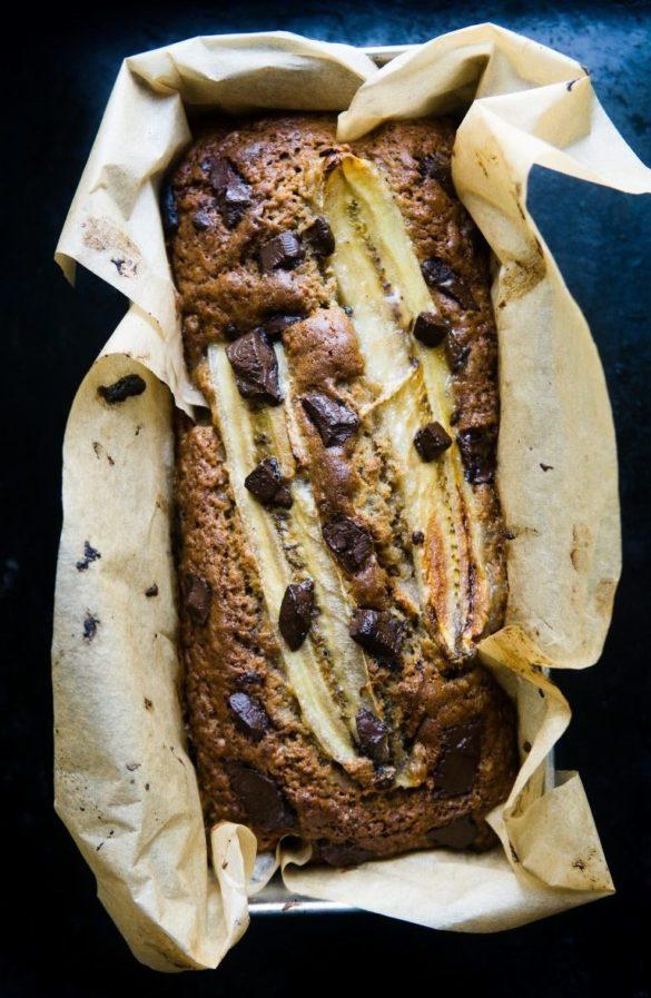 Prosty chlebek bananowy 12