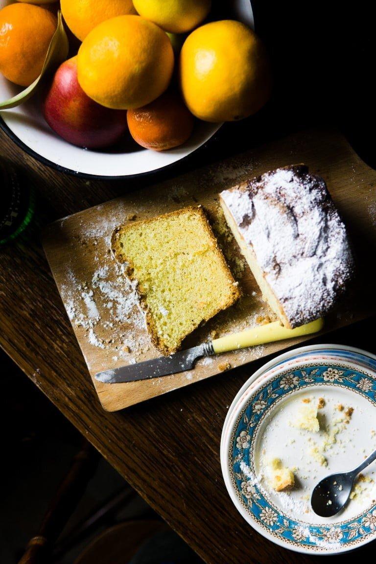 Cytrusowe ciasto maślane - quatre-quart 6