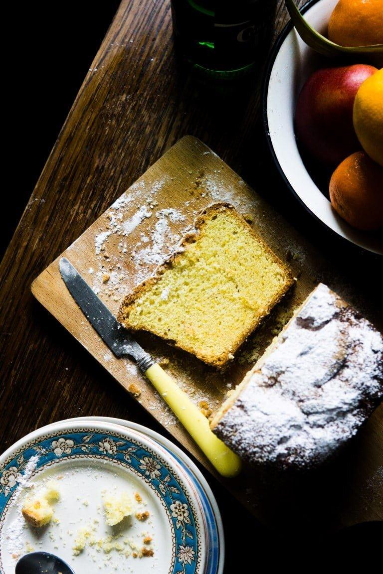 Cytrusowe ciasto maślane - quatre-quart 1