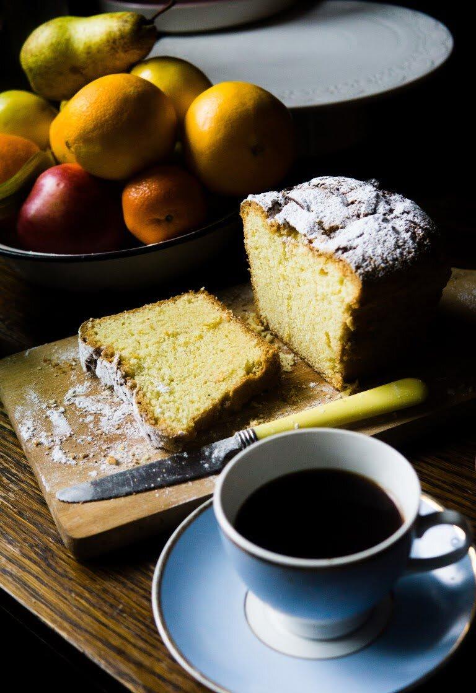 Cytrusowe ciasto maślane - quatre-quart 2