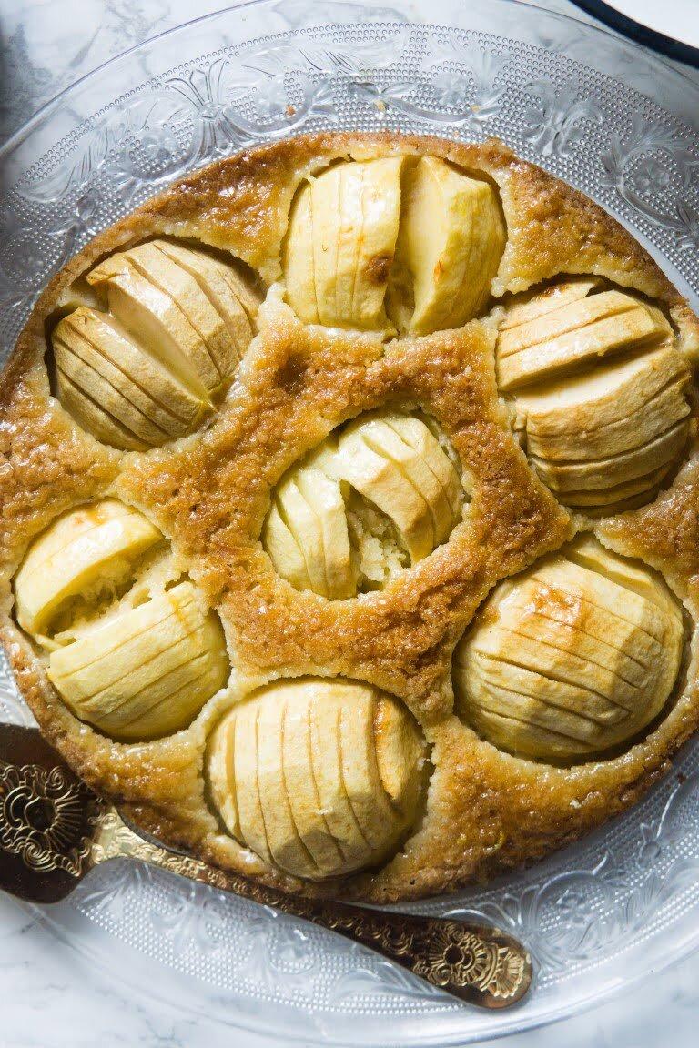 Najprostszy maślany jabłecznik 1