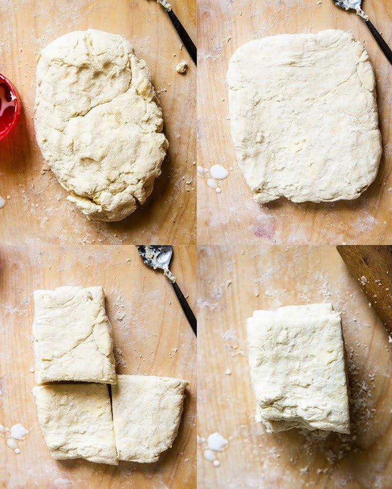 Biscuits - kruche maślane bułeczki na maślance 5