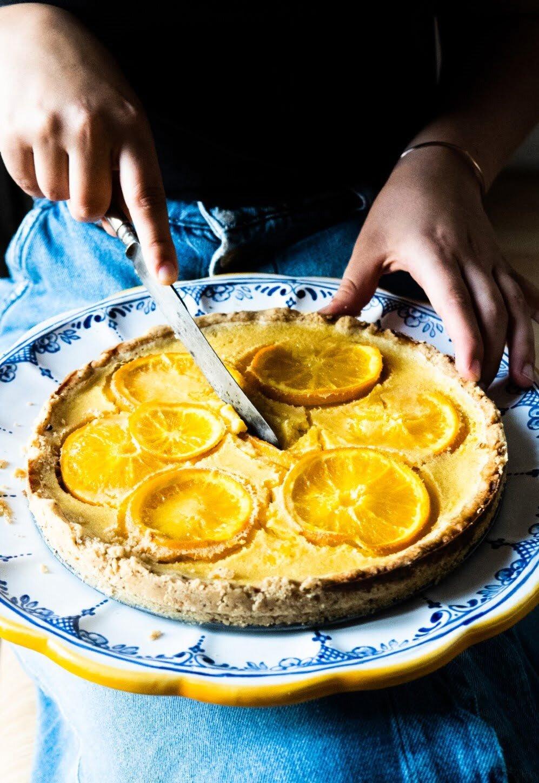 Gotuję dla Vogue'a: Tarta pomarańczowa 4