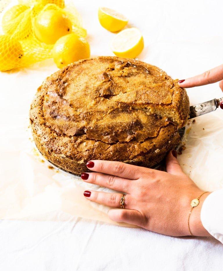 Gotuję dla Vogue'a: Ciasto oliwne 4