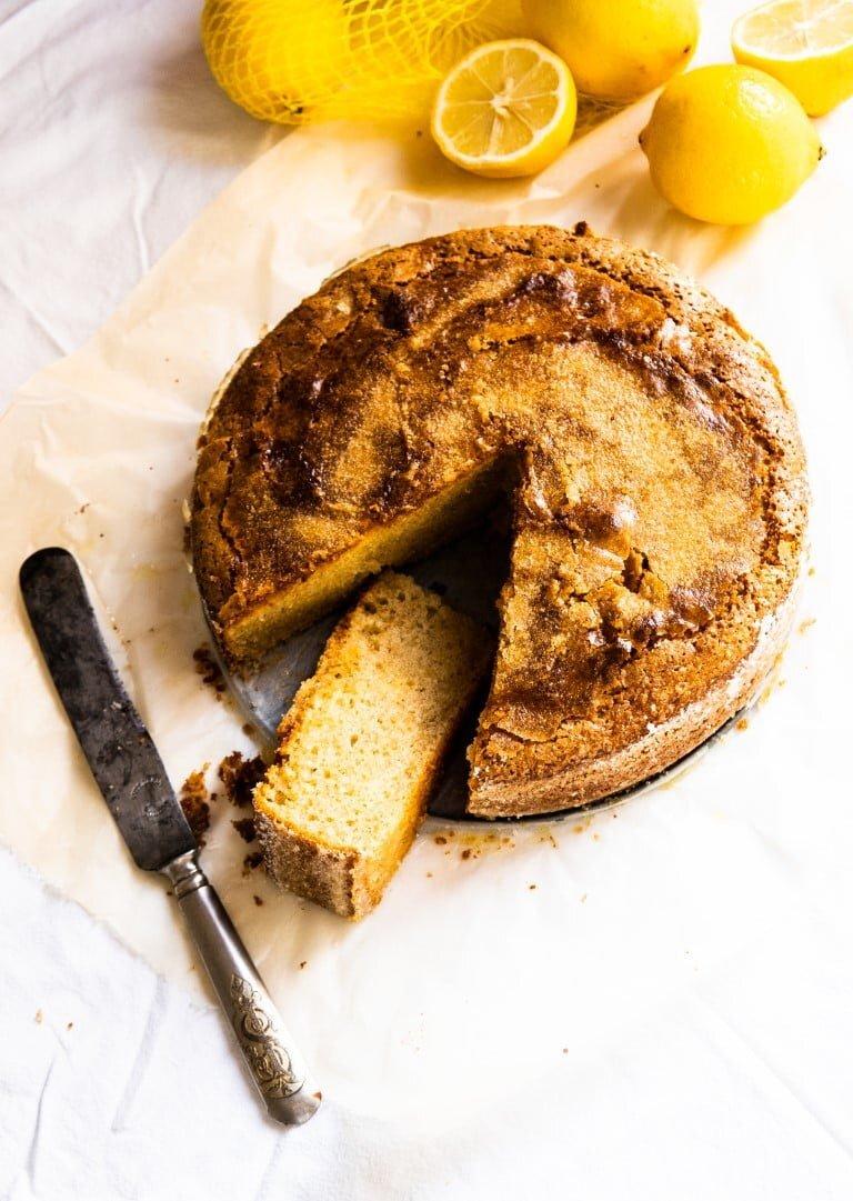 Gotuję dla Vogue'a: Ciasto oliwne 3