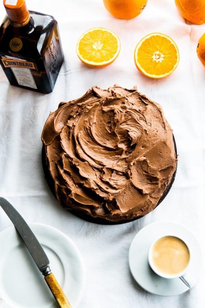 Ciasto czekoladowe z likierem pomarańczowym Cointreau: proste i zachwycające 2