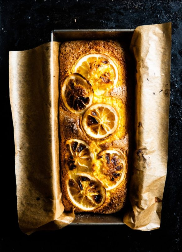 Turmeric Cake with Caramelized Lemons 12