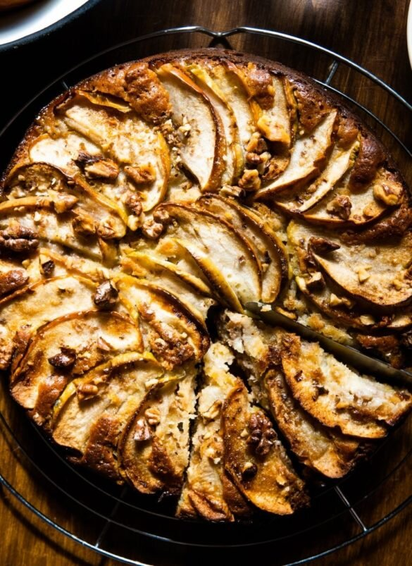 Breakfast Apple Cake with Cold-Pressed Rapeseed Oil 8