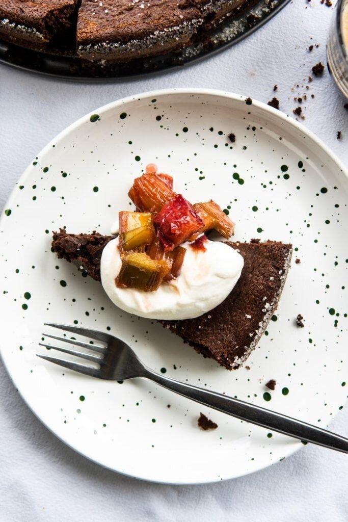Lekkie bezmączne ciasto czekoladowe z kawą 1