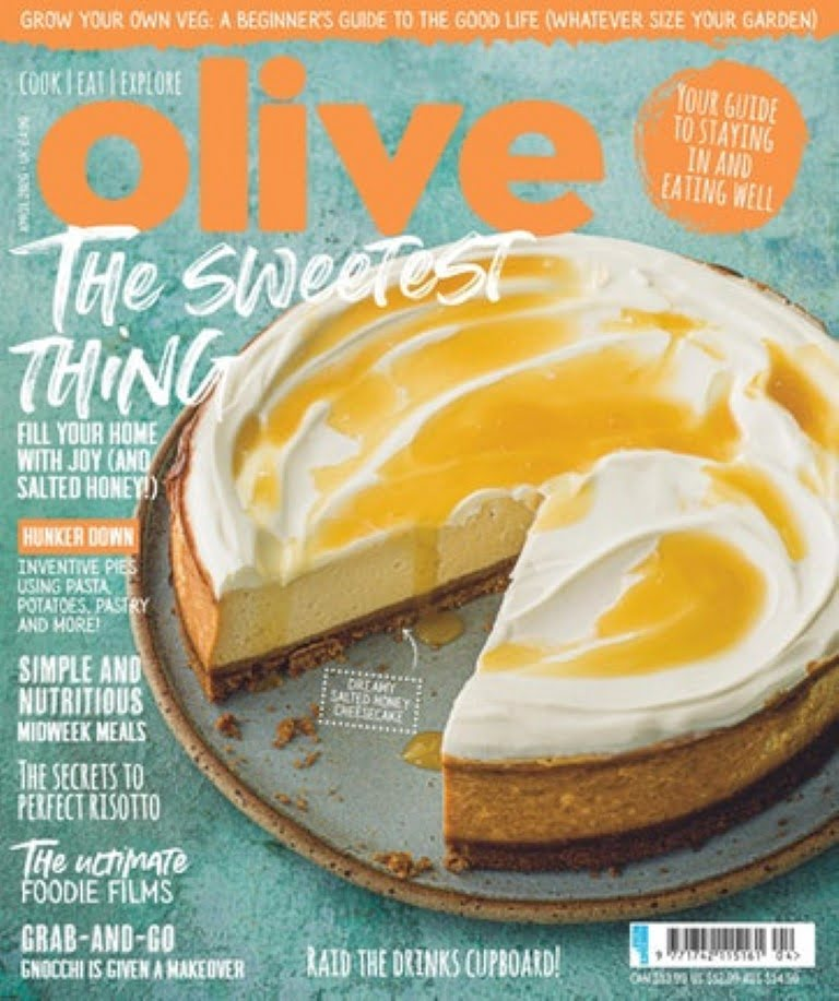 Cookbook Escapism: My cookbook Fresh from Poland featured in Olive Magazine! 1